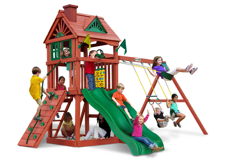 Studio shot of Double Down II Playset from Gorilla Playsets
