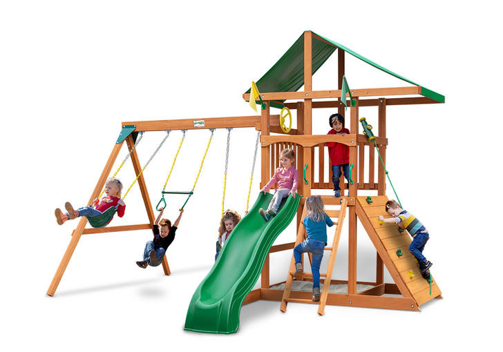 Studio shot of Outing Play set from Gorilla Playsets