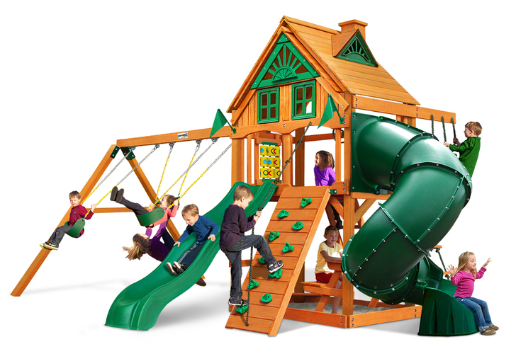 Studio shot  of Mountaineer Playset from Gorilla Playsets