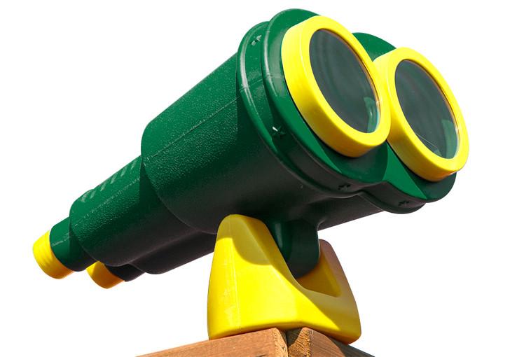 Studio view of Jumbo Binoculars from Gorilla Playsets.