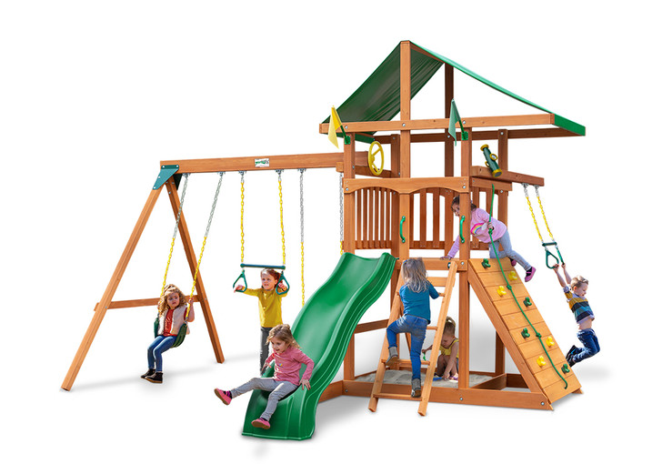 Studio shot of Outing IV Play set from Gorilla Playsets