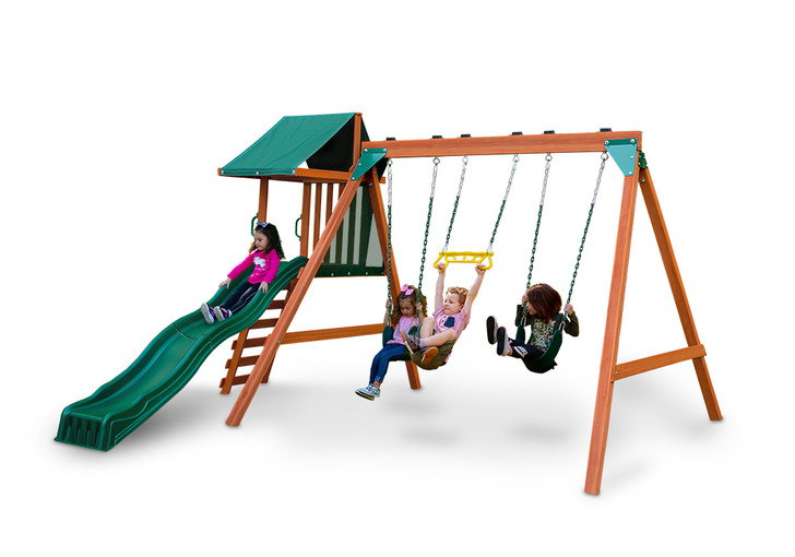Studio view of Ranger Plus play set from Gorilla Playsets.