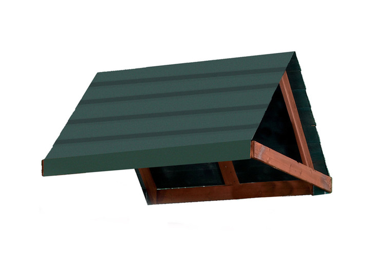 """Studio image of 45"""" x 74"""" Green Pleated Tarp from Gorilla Playsets."""
