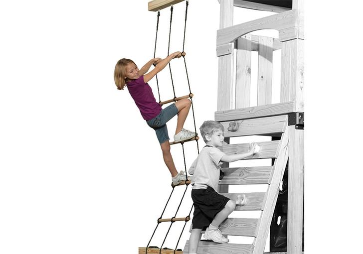 Lifestyle view of Matterhorn Climbing Ladder from Gorilla Playsets