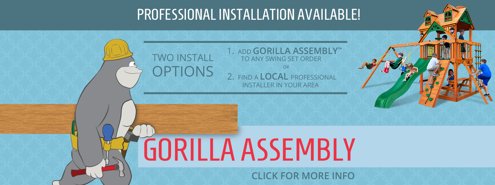 Gorilla Playsets Buy Swing Sets And Swing Set Accessories