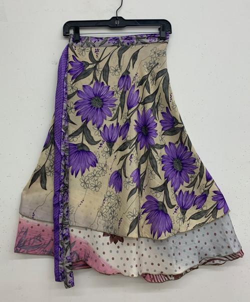 Mid-Length Wrap Skirt #6