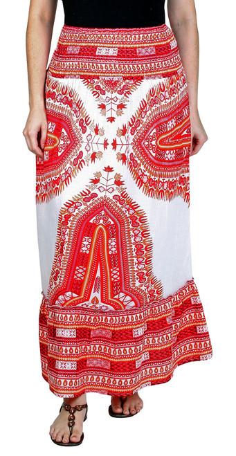 Beautiful Printed Skirt with elastic waist