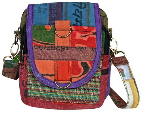 5 pocket bag with cool silk pocket