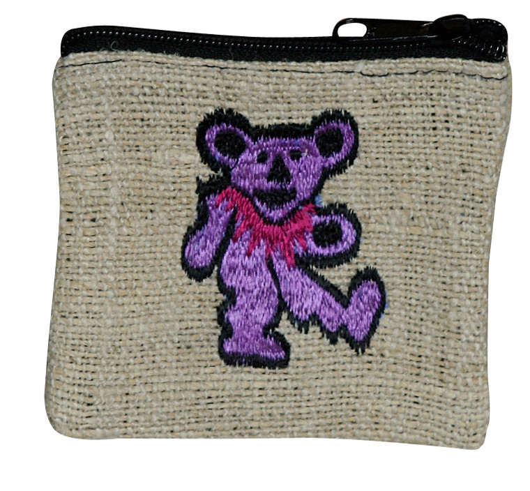 "BCP  -  Bear Coin Purse 5"" x 4"""