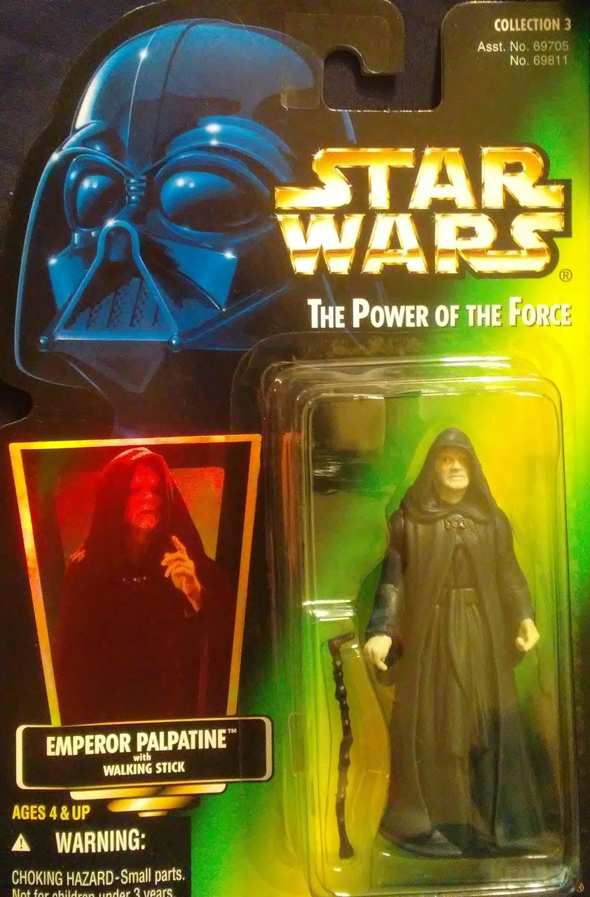 Star Wars Power of the Force Green Card Holographic Collection 2