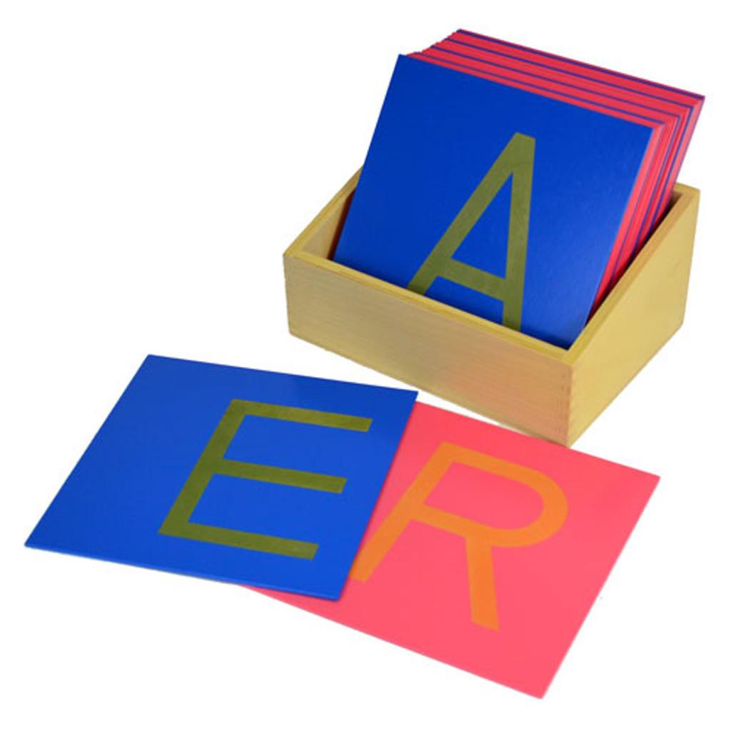 Sandpaper Letters - captial, print