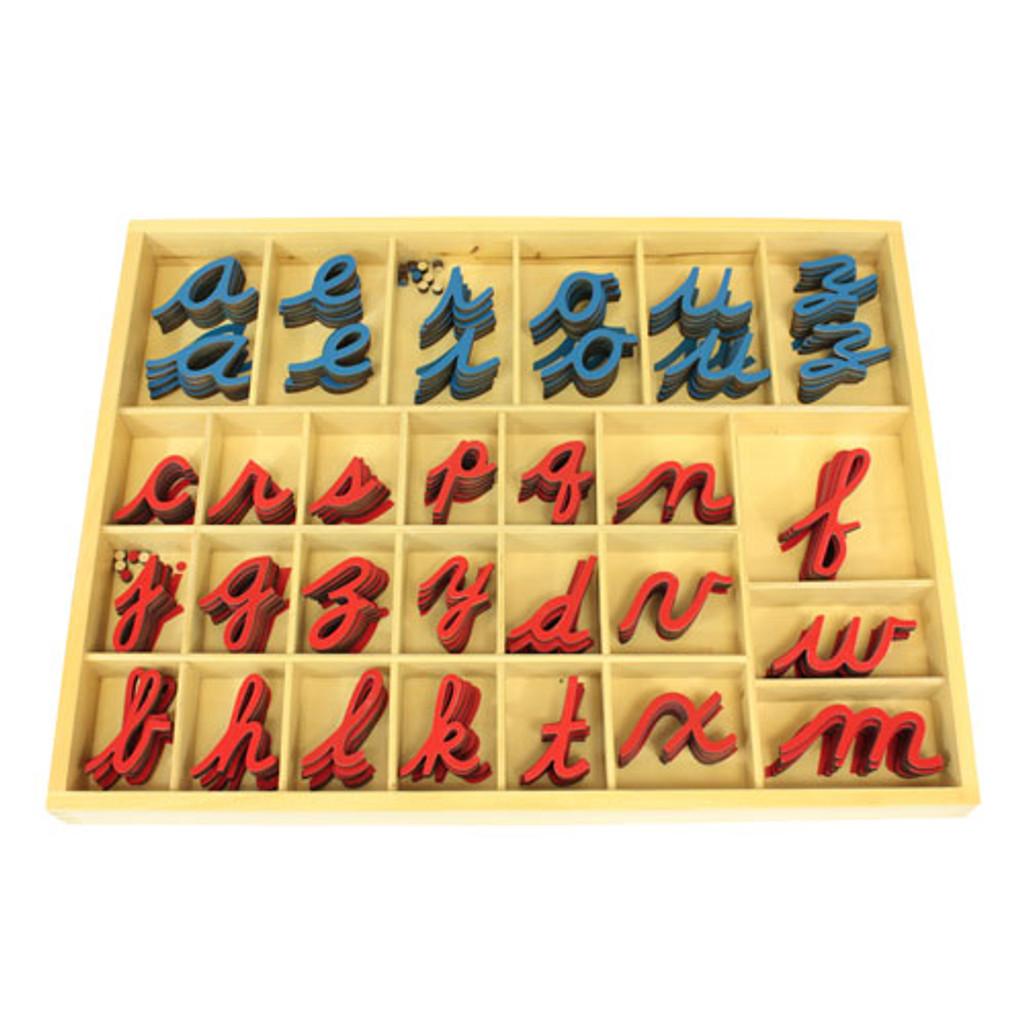 Small Movable Alphabet - cursive