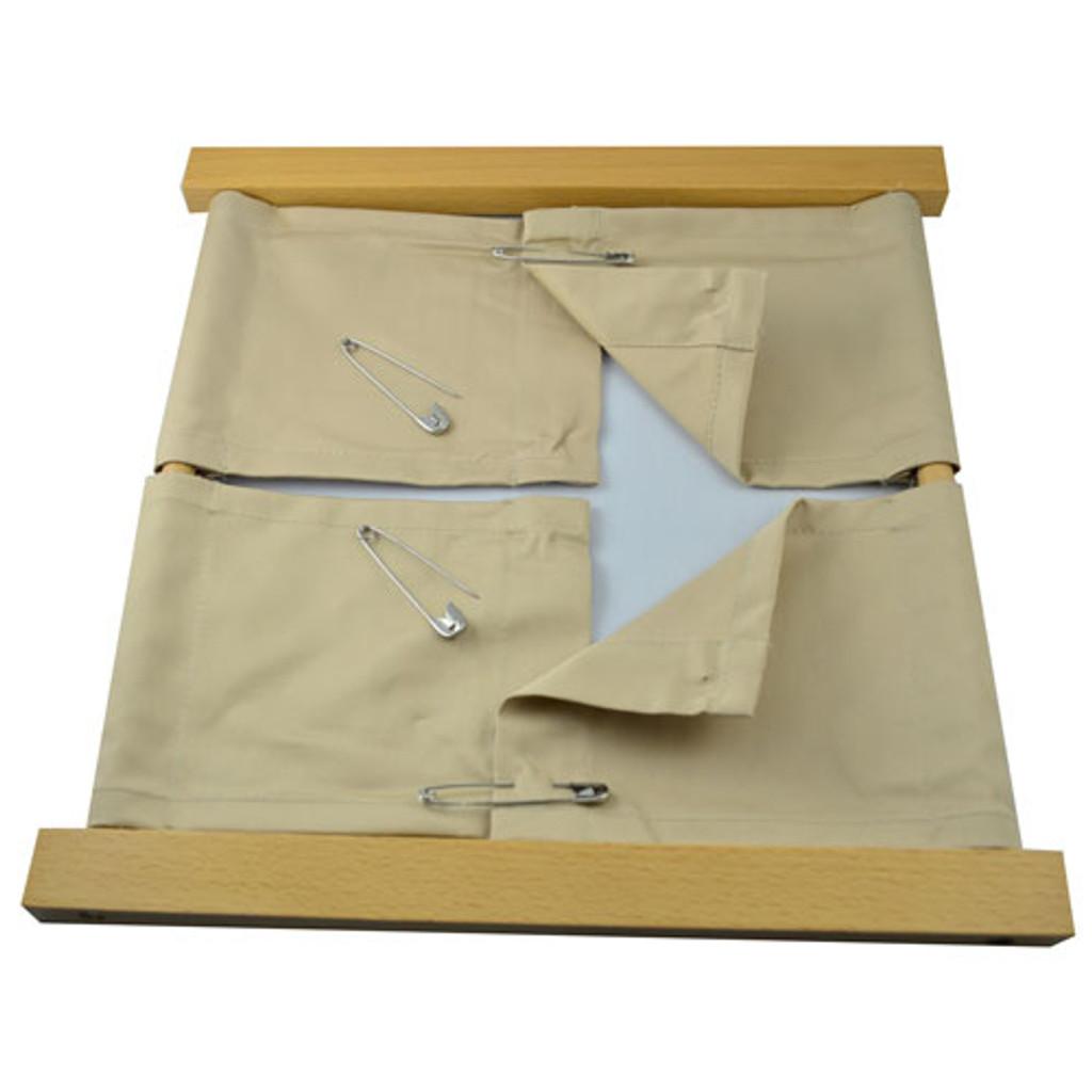 Safety Pins Dressing Frame