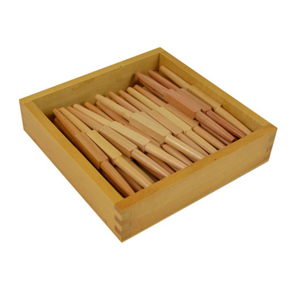 Wooden Spindles Set