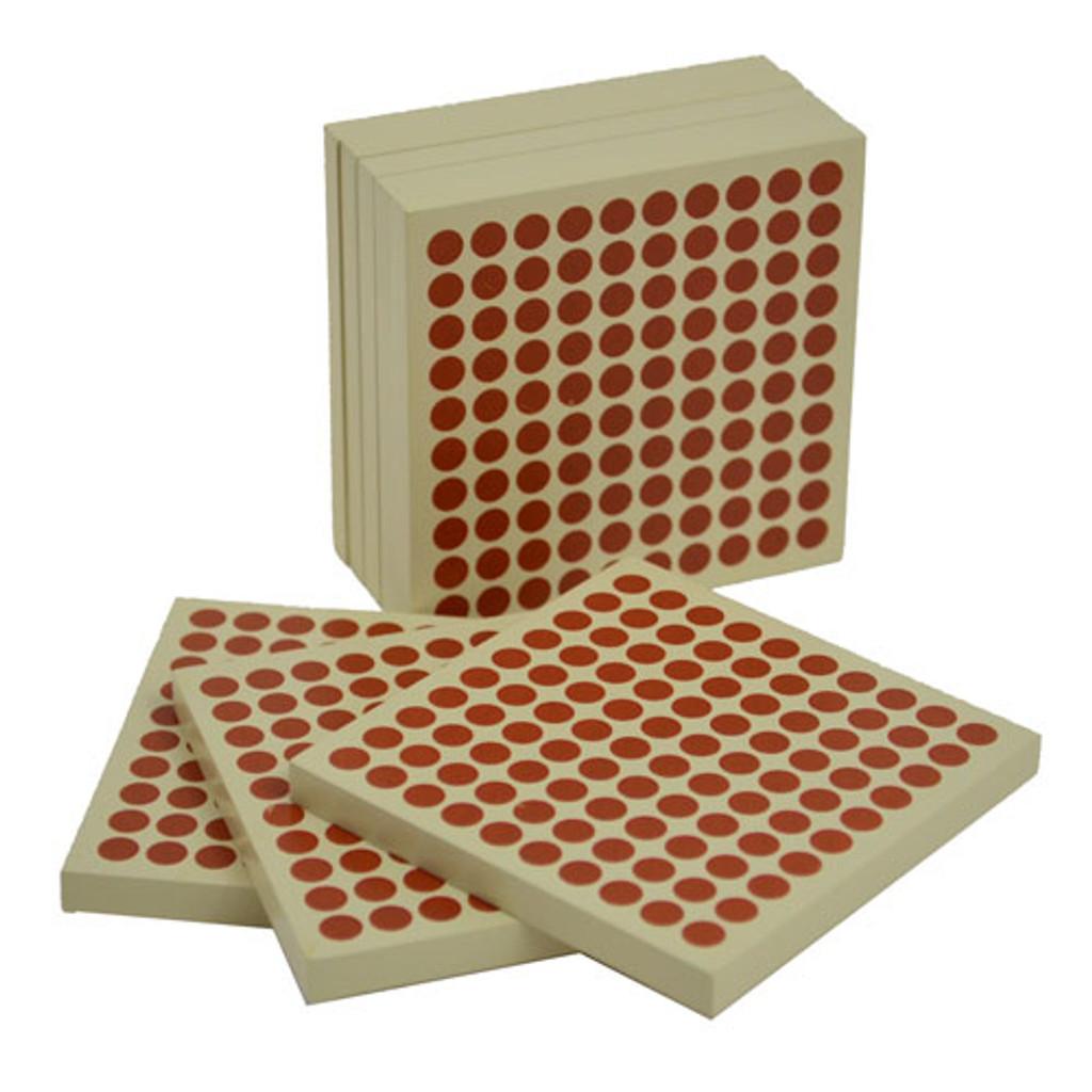 Wooden Hundred Squares