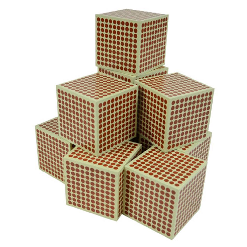 Wooden Thousand Cubes