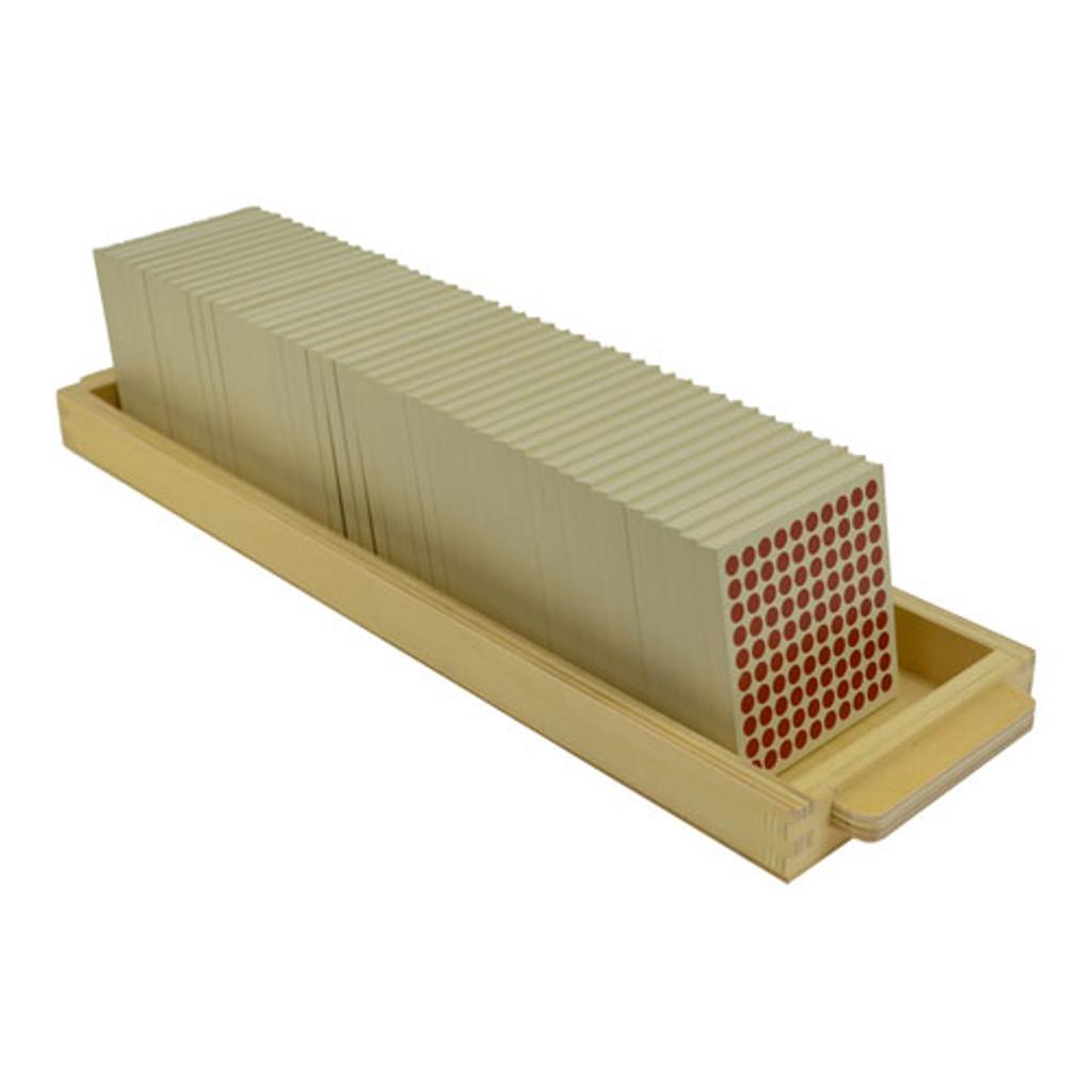 Hundred Squares Tray