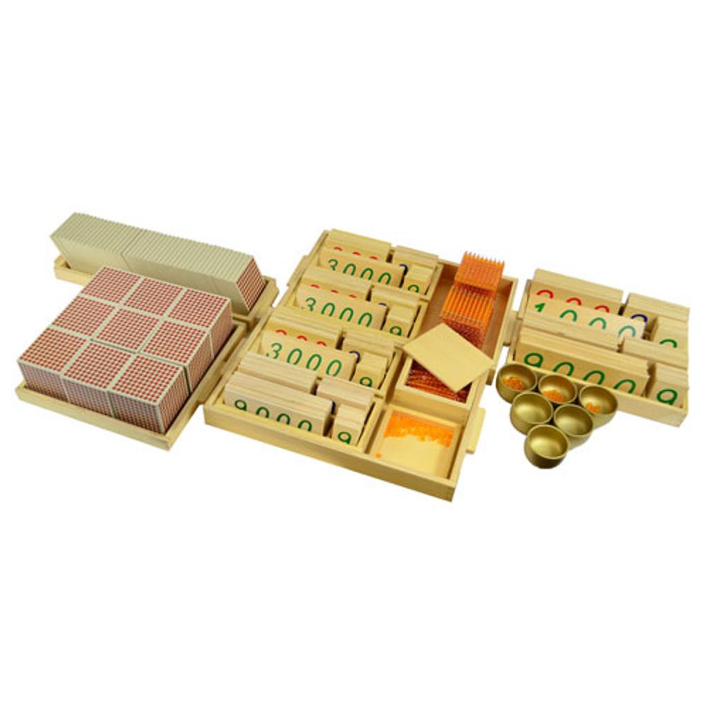 Complete Golden Bead Material Set