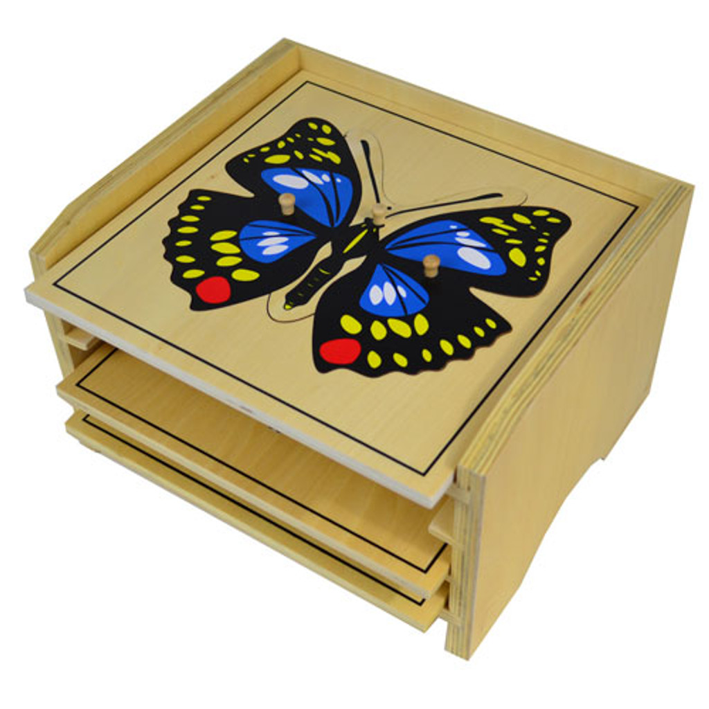 Three-Puzzle Cabinet