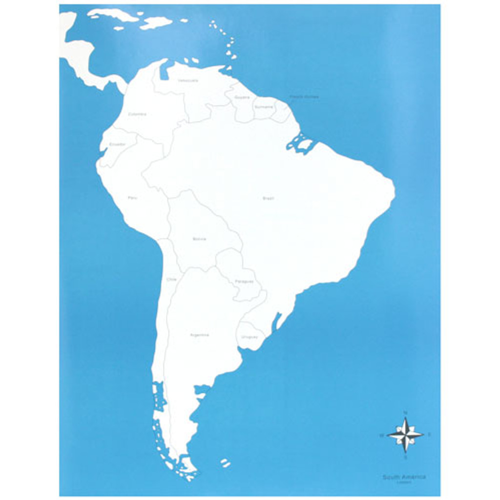 South America Control Chart - labeled
