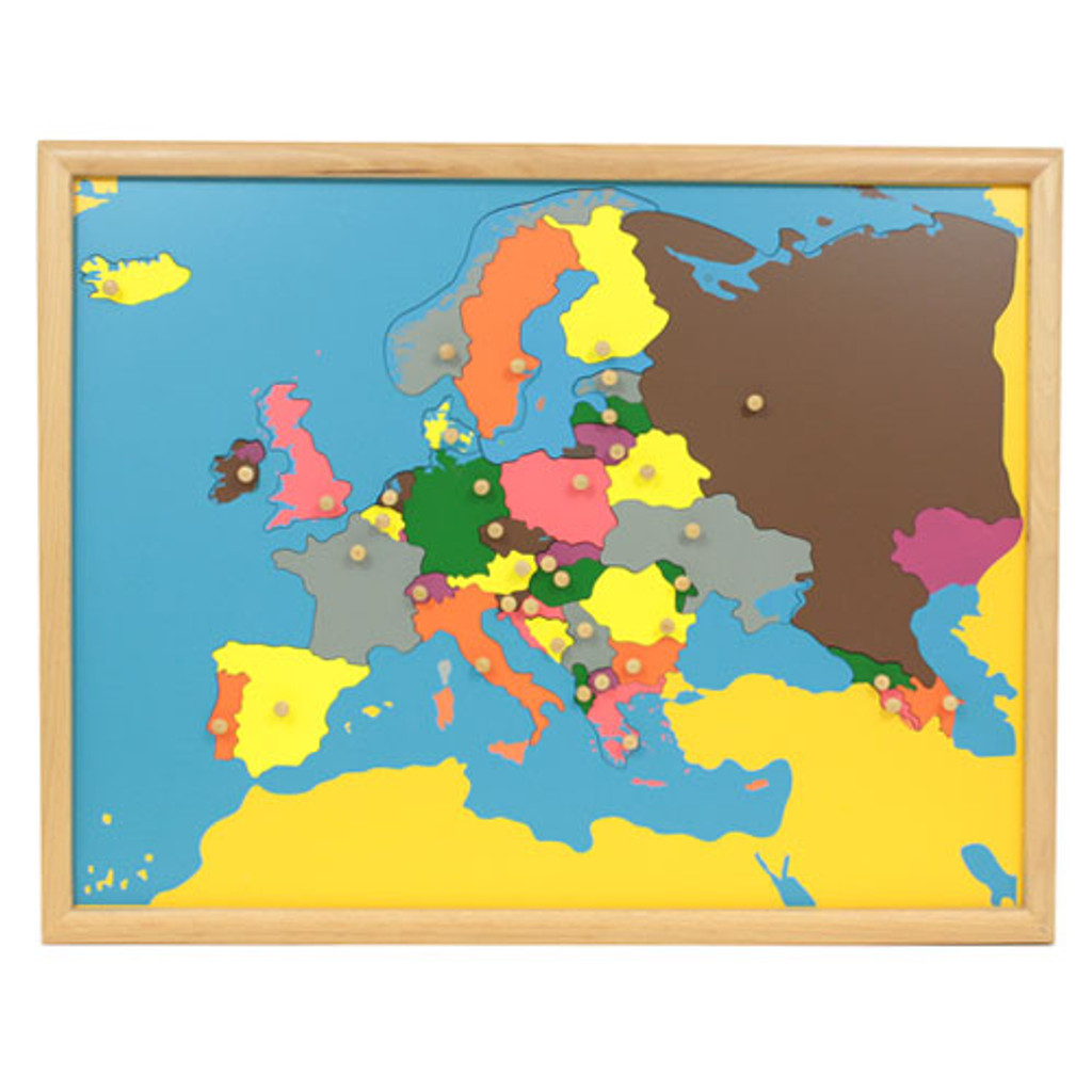 Europe Puzzle Map