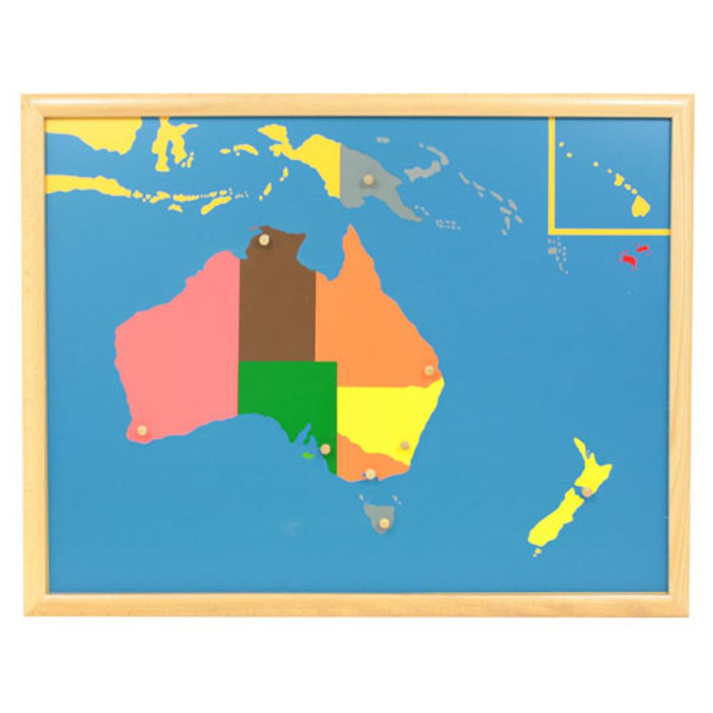 Australia Puzzle Map