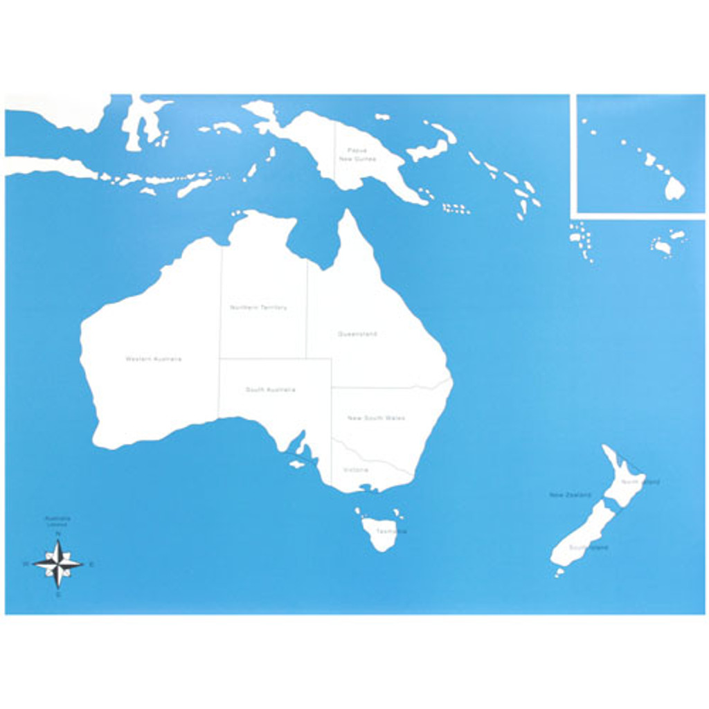 Map Of Australia Labeled.Australia Control Chart Labeled