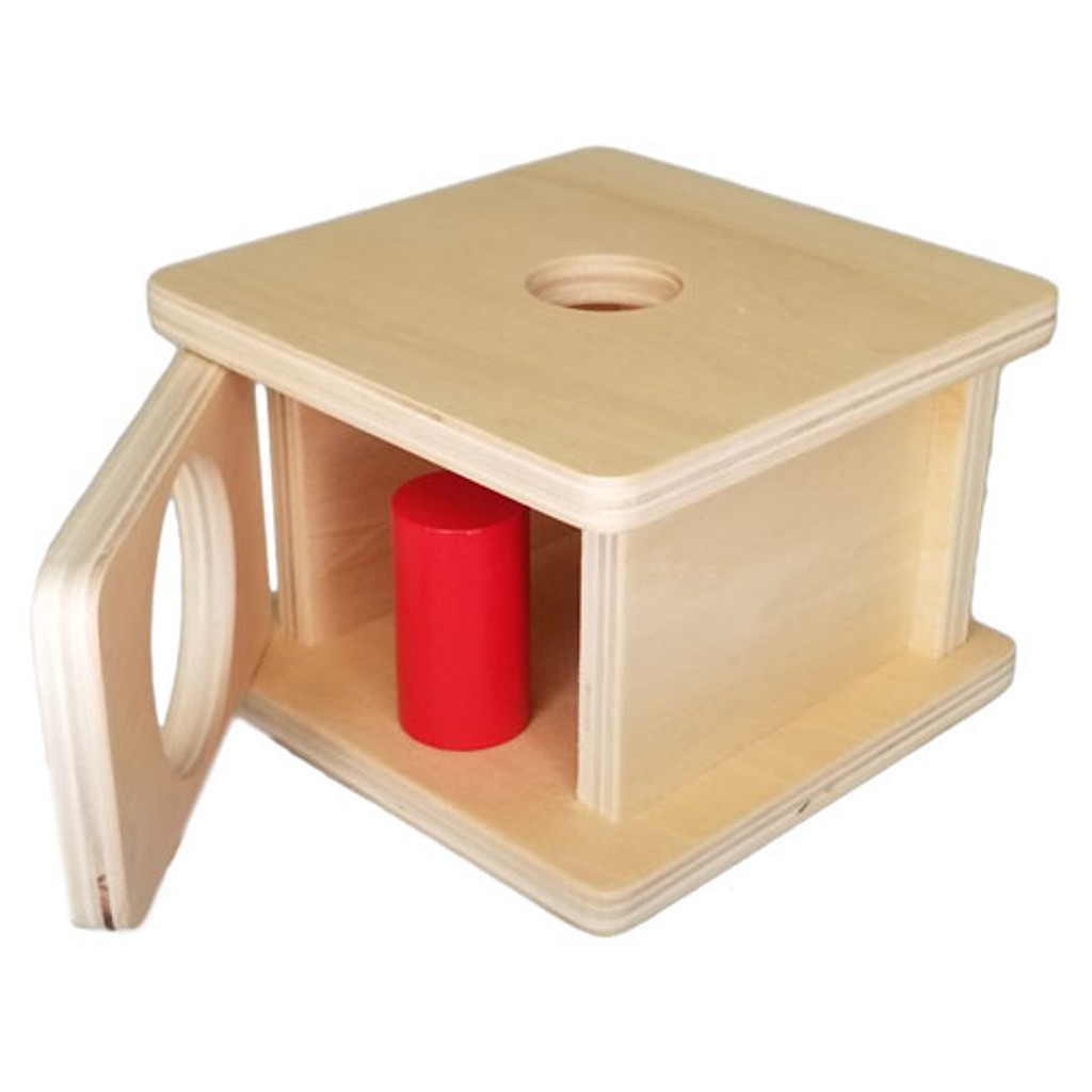 Box with Small Cylinder