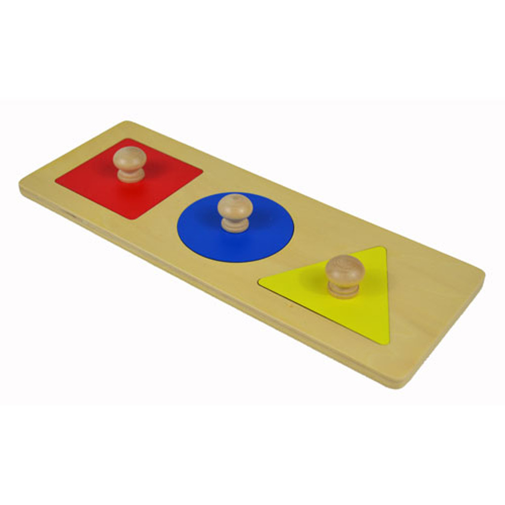 Three Shapes Inset Puzzle