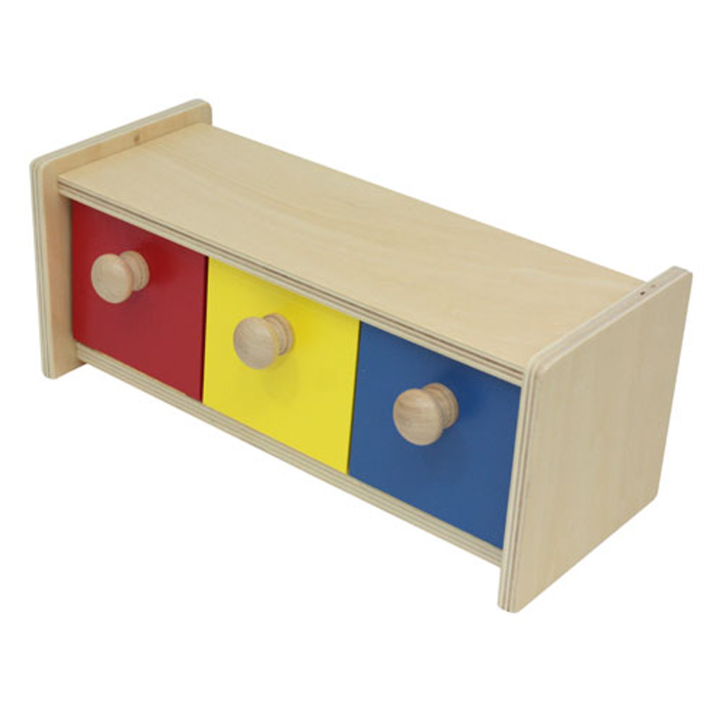Box with Three Bins