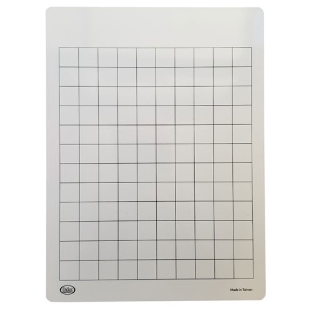 Write On/Wipe Off Number Mat