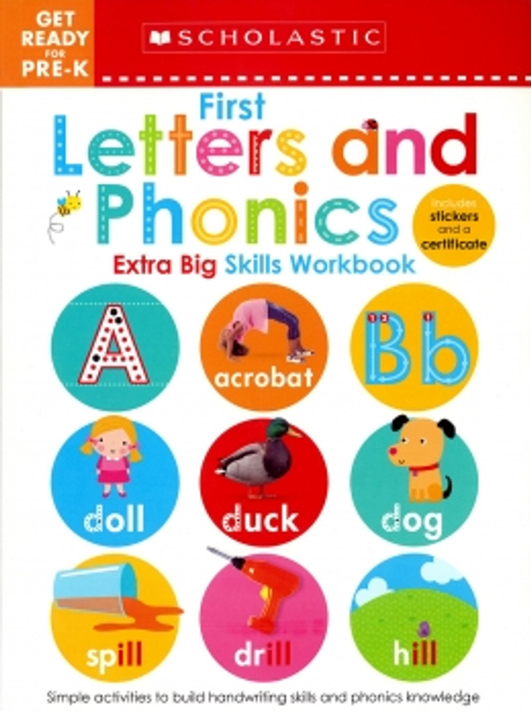 Pre-K Extra Big Skills: First Letters & Phonics