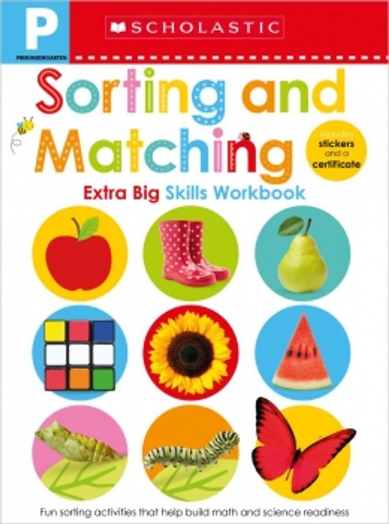 Pre-K Extra Big Skills: Sorting & Matching