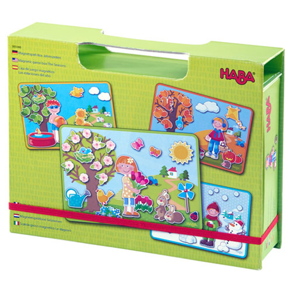 The Seasons Magnetic Game Box