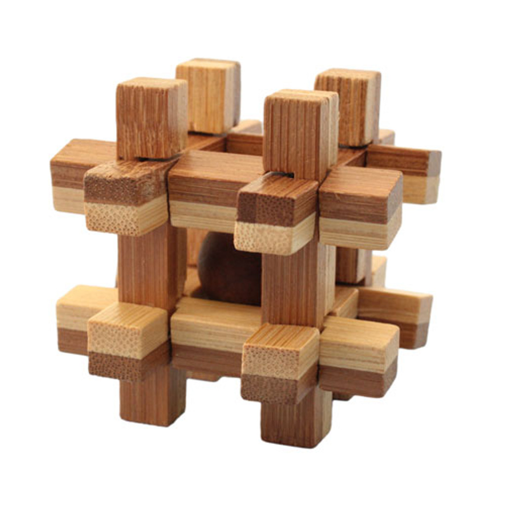 Bamboo Puzzle - Cage