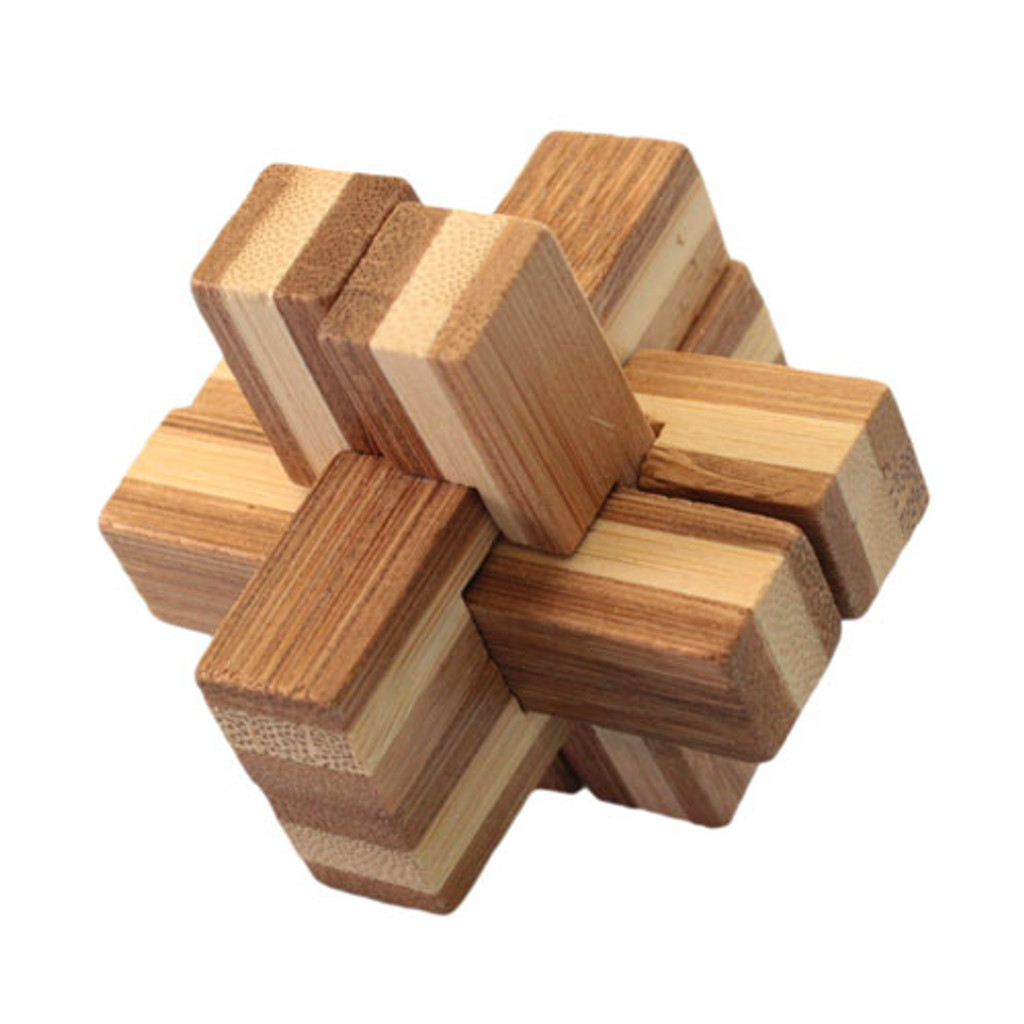 Bamboo Puzzle - Cross 1
