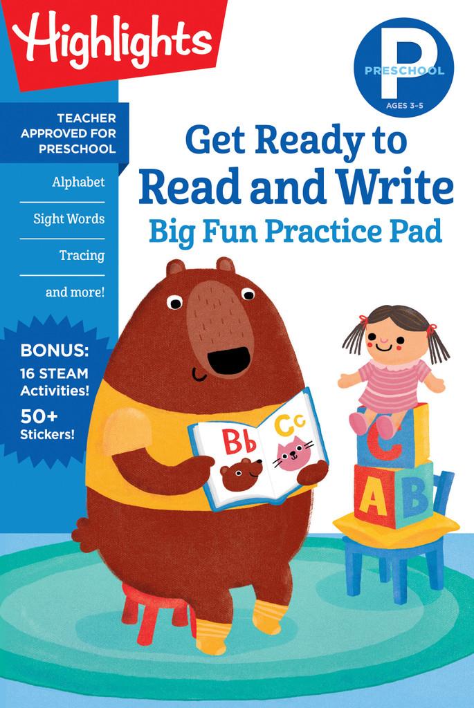 Preschool Read & Write Practice Pad