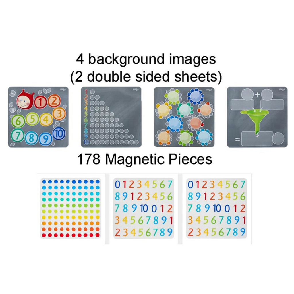 Magnetic Numbers Game Tin