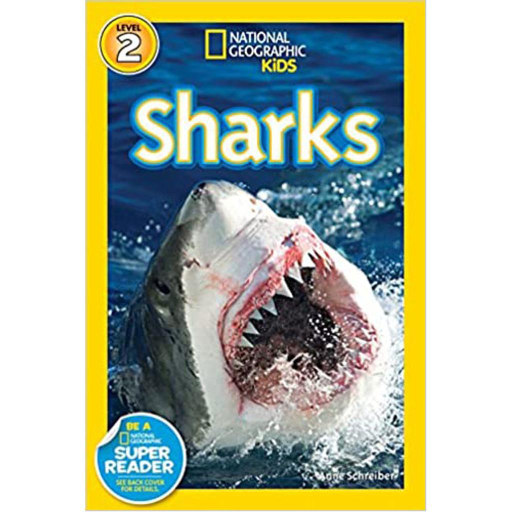 Nat Geo Readers: Sharks