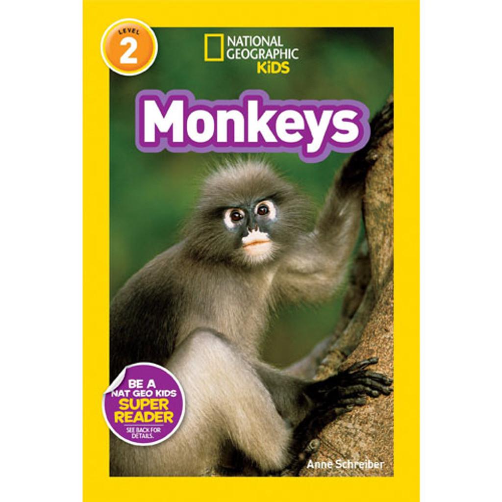 Nat Geo Readers: Monkeys