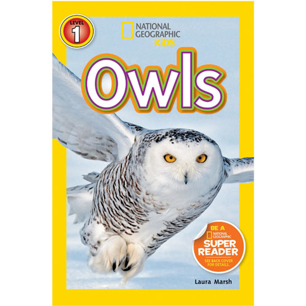 Nat Geo Readers: Owls