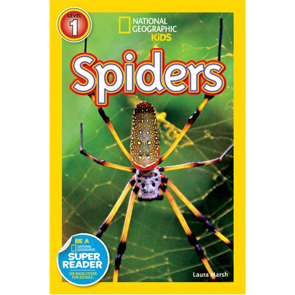 Nat Geo Readers: Spiders