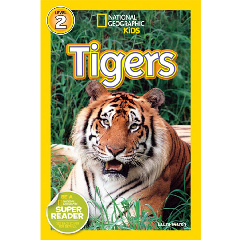 Nat Geo Readers: Tigers
