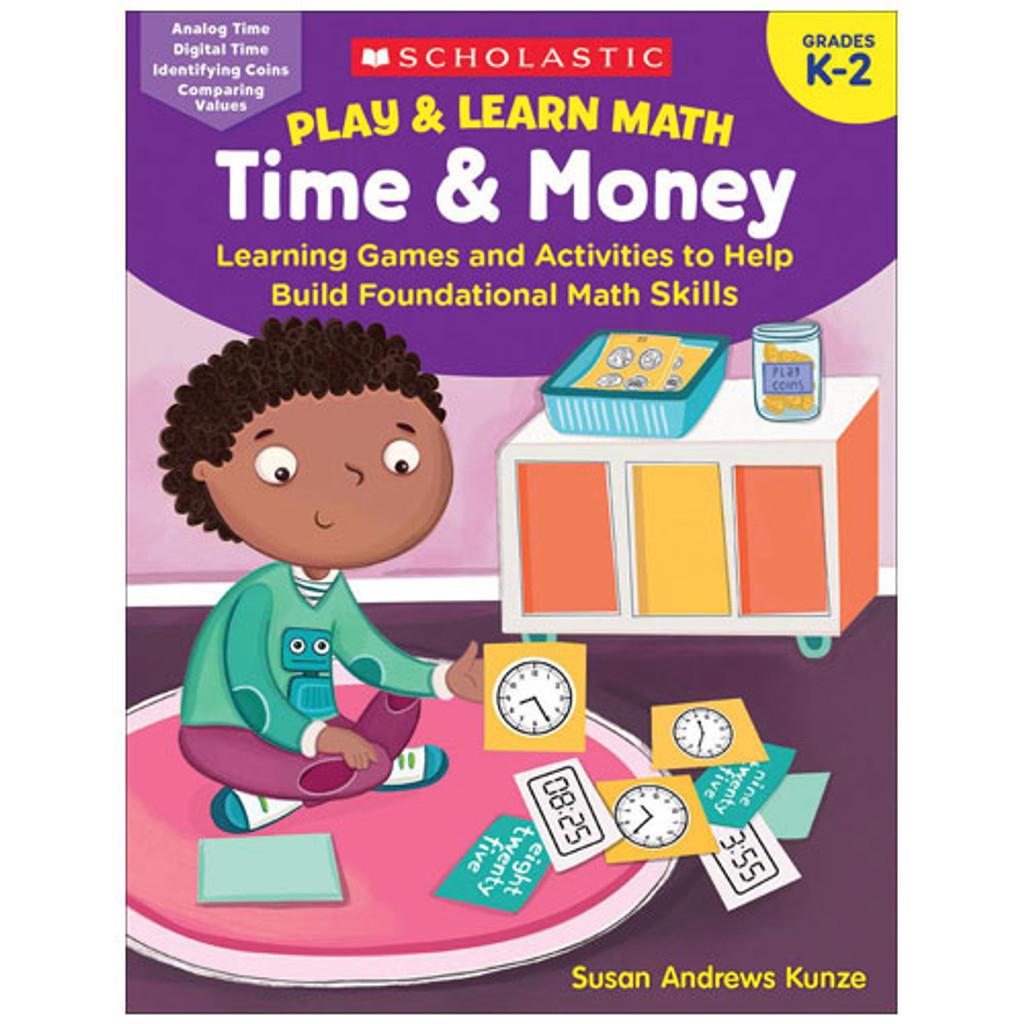 Play & Learn Math: Time & Money