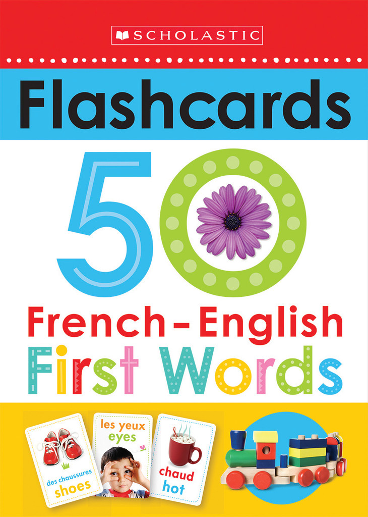 French-English First Words Flashcards