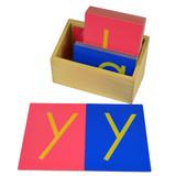 Sandpaper Letters - lower case, print