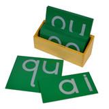 Sandpaper Letters - digraph, print