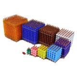 Decanomial Bead Cubes
