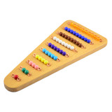 Coloured Bead Stair