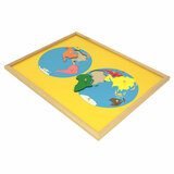 World Puzzle Map